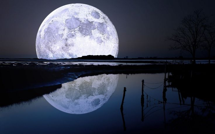 Alto silenzio fa la bianca luna